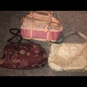 Coach Purse Bundle